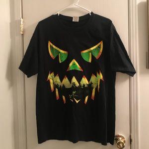 (Large) Scary Jack O'Lantern Halloween T-Shirt